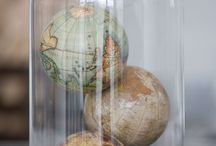 maps and globes / by Crystal Clemmons
