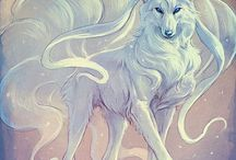 Fantasie Wölfe