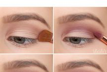 Wedding eye makeup