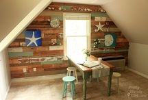 Planked walls / by MyLove2Create