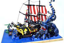Lego hajók
