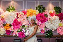Art School Styled Wedding Shoot / Art School Wedding Inspiration