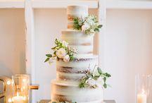 Wedding naked Cakes