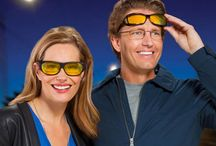 Night Driving Glasses / Night Drivers by Solar Shield - More contrast, less glare!