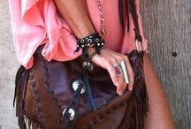 Boho style / Clothes and accessories