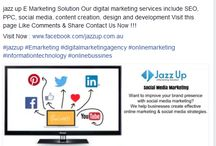 Jazz Up e Marketing Solution