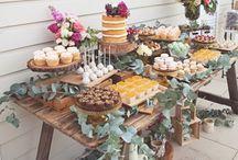Garden party & garden food