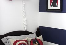 Captain America bedroom