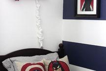 Super Hero Boys Room