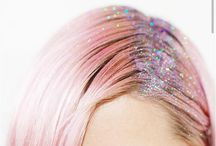 Glitter Root Trend