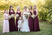 Beautiful Burgundy and Pink-Danielle and Brent's Wedding