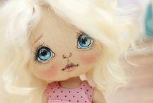 Лицо куклы