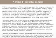 Best Biography Samples (best_biography) on Pinterest