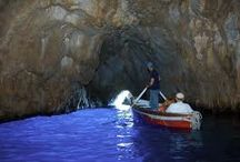 The Blue Grotto Capri / Enjoy the  Blue Grotto, one of the wonders of the island of Capri, the most famous in the world.