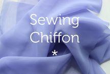 Sewing light patterns