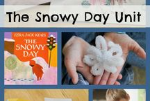 Winter Thematic Unit / Winter thematic fun for kindergarten math, reading, social studies, art, music, writing, and science.