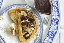 Pancake Day / Shrove Tuesday or Pancake Day is all about using up butter, eggs and sugar before lent, and of course the flipping! Here's some delicious inspiring recipes for pancakes and toppings.