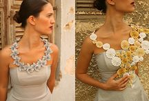 Paper Jewels / I love paper and jewelry so why not paper jewelry! It's the best of both worlds.