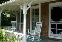 The porch..