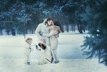 зима фотосессия