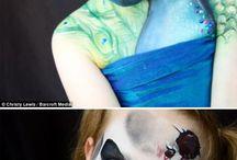 Maquillajes de cara / Maquillajes de cara