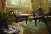 Interiors in Art / by Sherry Schmidt
