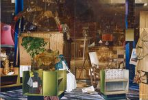 Painting: Chaotic Interior Spaces