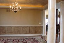 Paint finishes/Wall Treatments/Home / by Sherry Bradley