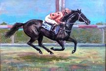 Art with Horses / paintings and sketches of horse art