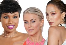 Celebrity Beauty Inspiration / Make-up, hair and beauty inspiration from the stars