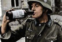 German soldiers drinking stuff