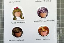 Blendabilities Markers / Handmade cards and projects, How-To Videos, and Color Charts using the Blendabilities Markers by Stampin' Up! The Blendabilities Markers are alcohol markers similar to Copics.