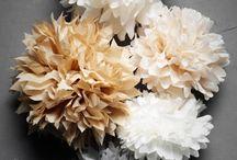 Papier flowers