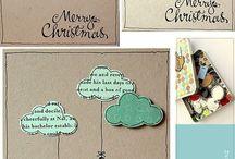 Postales de Navidad hand made