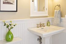 Powder room redo / by Robin Welde-Orum