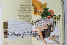 JOURNALS/SCRAPBOOK/ALTERED BOOKS / by Jeana Rabe