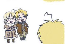 Hetalia - we learned the history like this. :D