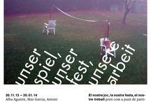 Expos / Exposicions de Sant Andreu Contemporani, un programa públic dedicat a l'art emergent al Districte de Sant Andreu (Barcelona), articulat al voltant del Concurs d'Arts Visuals Premi Miquel Casablancas. El programa fomenta l'experiència en l'etapa de professionalització artística a través de la producció de projectes, residències per artistes i programació d'activitats. / by Sant Andreu Contemporani