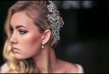Hayley's wedding / gorgeous  20s inspired hair styles for Hayley's wedding