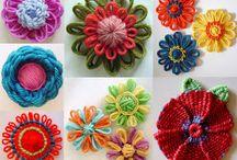 fiori con telaio