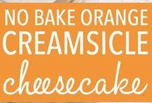 Cheesecake creamsicle