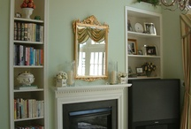 Mantels, Fireplaces & Hearths to inspire... / Fireplace & hearth to inspire... / by Lena Kroupnik Interiors