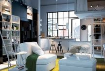 Living Room / Living room ideas: for small and big rooms, cozy apartments, neutral or rustic designs, bohemian and eclectic