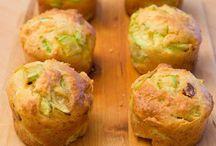 Quiches et muffins salés