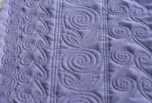 Quilting Ideas and Motifs / A collection of various styles of free motion quilting.
