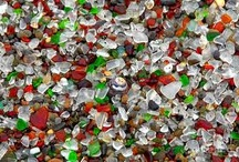 Fort Bragg Glass Beach / We love our rugged coastline, sprinkled in with sandy beaches. Then there is Glass Beach in Fort Bragg, a part of MacKerricher State Park. Take photos, not glass please.