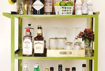 Bar Cart / The ever loved bar cart and styling of.