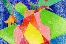 kubizm i obrazy monochromatyczne
