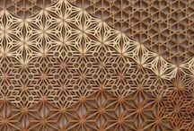 Mosaique bois