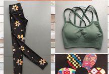 JUJA - FALL 16 / Yoga pants, leggings, tank tops, and bras